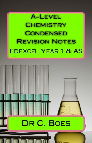 A-Level Chemistry Condensed Revision Notes Edexcel Y1 & AS (2015): Designed to Facilitate Memorization: Volume 2 (Coloured Chemistry Flashcards)