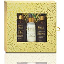 Organic Affaire Hair & Face Care Gift Set - Urban Knight (Pack of 3)