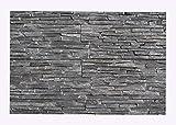 W-008 Wanddesign Verblender Schiefer Steinwand Wandverkleidung - 1 Muster - Naturstein-Fliesen Lager Verkauf Stein-Mosaik Herne NRW