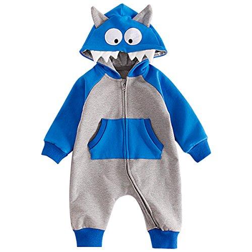 Bebone Baby Strampler Jungen Mädchen Halloween Kostüm (12 Monate, (Monate 12 Babys Für Kostüme Halloween)