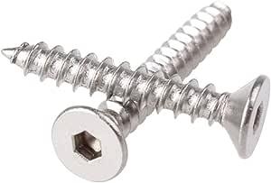 Senkkopfschraube mit Innensechskant Hochfest 10.9 DIN 7991-10 St/ück Materialfarbe Bolt Base - 3mm // M3 x 30 mm Schwarz