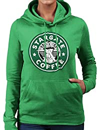 Stargate SGC Starbucks Coffee Women's Hooded Sweatshirt