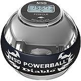 Powerball - 350Hz Metal Pro - Diablo, color gris y negro