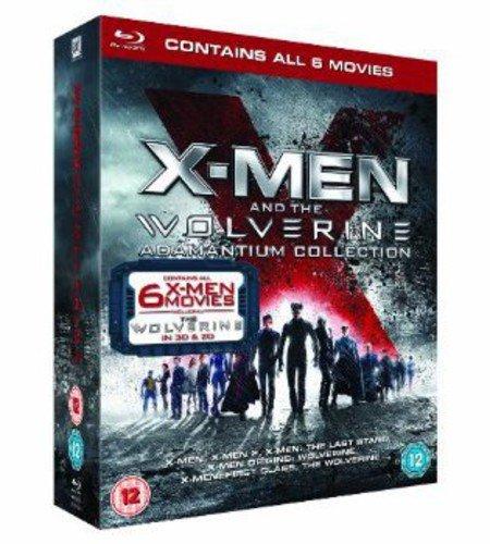 X-Man & the Wolverine Adamantium Collection [Blu-ray] [Import]