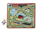 #7: Melissa & Doug Round the Town Road Rug, Multi Color