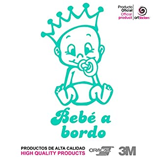 Artstickers® Wandtattoo Bebe a Bordo (Baby an Bord)–BABYFUN COLLECTIÓN 9x16,5 Mind