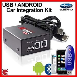 Grom Audio USB MP3/Android Autoradios Kit pour Subaru voitures
