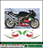 Kit adesivi decal stickers APRILIA RSV 1000 R TRICOLORE LYON RR (ability to customize the colors)