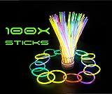 Set de pulseras fluorescentes barras luminosas LED para fiestas obsequios para niños...