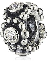 Pandora 791122CZ - Abalorio de plata de ley con zirconia