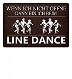 Shirtee Line Dance Western Style Country Dance - Fußmatte