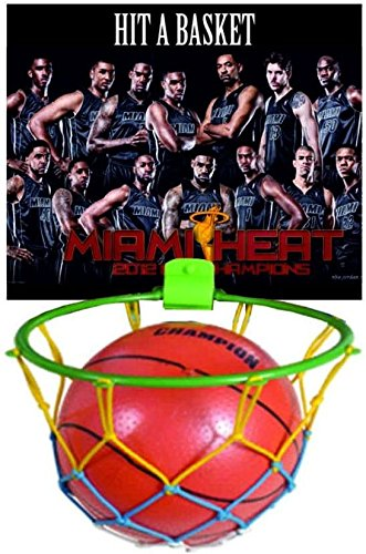Ratna's Kid's Hit a Basket-Ball with Ball Included to Play & Have Fun (Multicolour)