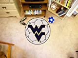 Fanmats 02458 West Virginia University Fu-ball Rug
