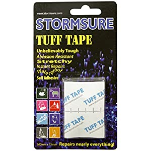 51lYqFimWWL. SS300  - Stormsure Tuff Tape 50cm x 75mm on card