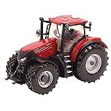 Britains Tomy Case IH 300 CVX - Kinder Traktor mit höhenverstellbarer Heckhydraulik und lenkbarer Vorderachse - Hochwertiger Traktor für Kinder ab 3 Jahre