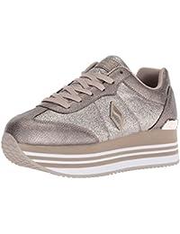 23698ae95f86 Suchergebnis auf Amazon.de für  Skechers - Silber   Sneaker   Damen ...