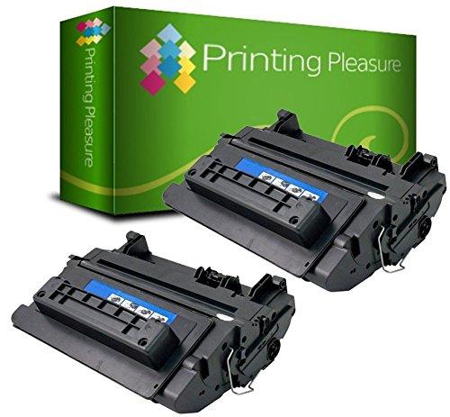 Printing Pleasure 2 Toner kompatibel für HP Laserjet Enterprise 600 M601 M602 M603 M4555 Serie   CE390X 90X