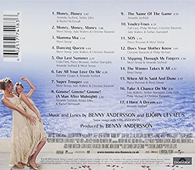 Mamma Mia! The Movie Soundtrack : everything five pounds (or less!)