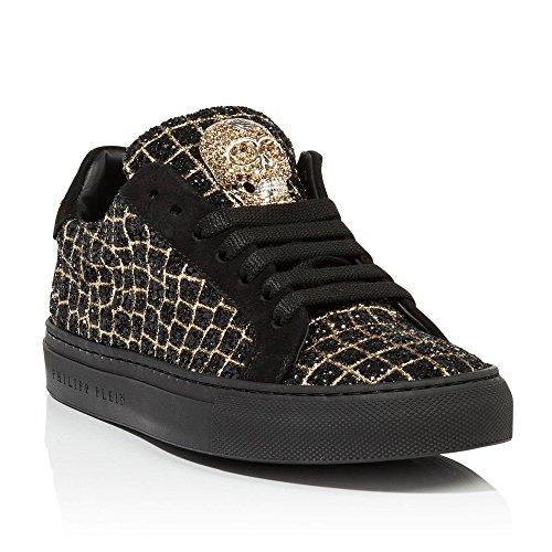 chaussures de skate-Pure Color Lace Toe jusquRound Platform Skate Chaussures Femme SYvfA8CPe