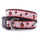 The Worthy Dog Marienkäfer Halsband, Pink, XL