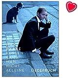 Max Raabe Küssen kann man nicht alleine - Liederbuch zum Album - Songs arrangiert für Klavier, Gesang und Gitarre - Songbook mit bunter herzförmiger Notenklammer