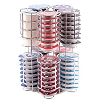 Tassimo Pod Holder Stores 80 Pods including Larger Milk Pods Rotating Base Unbeatable Quality Guaranteed Babavoom® T80
