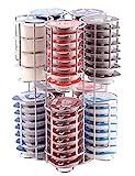 Distributeur de capsules Tassimo | 80 capsules sur une base ROTATIVE | la garantie de qualité incomparable de BabavoomT80