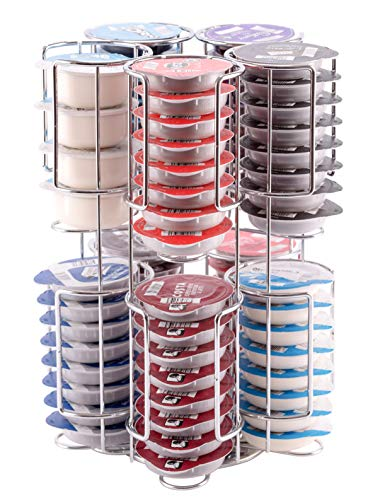 Tassimo Kapselhalter T-Disc Ständer für bis zu Hält 80 Kapseln auf einem drehbaren Gestell | Babavoom® T80