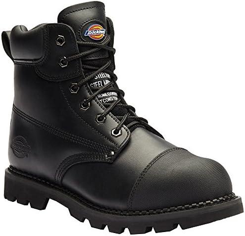 Dickies FD9210 BK 11 + Crawford – Zapatos de seguridad sb-p talla 46 NEGRO