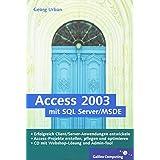 Access 2003 mit SQL Server/MSDE