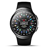 Smartwatch Telefon, lemfo les2 3 G Android 1 GB + 16 GB Watch Phone Herzfrequenz Monitor GPS WIFI Bluetooth Running Benachrichtigung Schrittzähler Bluetooth Armbanduhr für iOS Android Handy