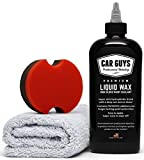 CarGuys Liquid Wax - The Ultimate Car Wax Shine with Polymer Paint Sealant