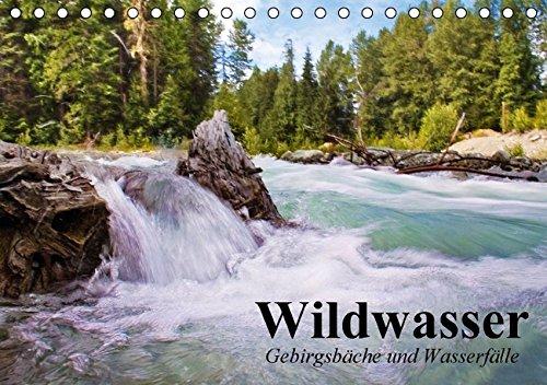 Wildwasser. Gebirgsbäche und Wasserfälle (Tischkalender 2016 DIN A5 quer): Die wilde Schönheit von Gebirgsbächen und Wasserfällen (Geburtstagskalender, 14 Seiten) por Elisabeth Stanzer