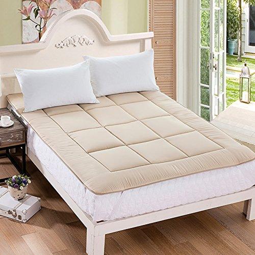 HYXL Verdickung Anti-Rutsch Boden Matratze,Faltbare Tatami matratze Komfort-Portable Pad matratzenbezug überfüllt Nap-Matte Wohnheim matratze Bett Pad Anti-Rutsch-C 90x200cm(35x79inch)