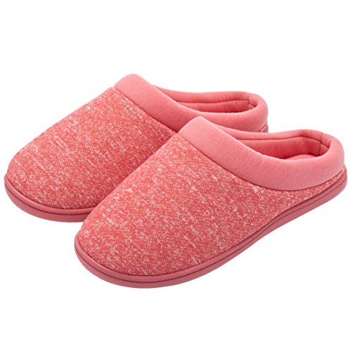 Hometop da donna comfort slip on memory foam French Terry fodera interna Clog pantofole a casa Rot