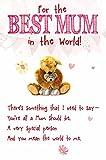 Meilleur Maman Mère carte de fête