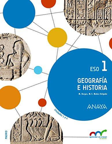 Geografía e Historia 1. (Aprender es crecer en conexión) - 9788467850918 por Manuel Burgos Alonso