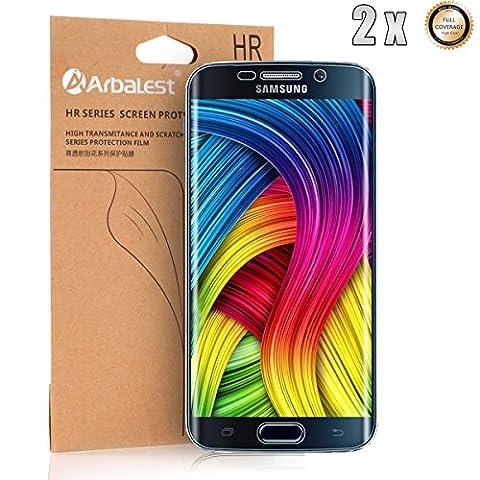 Arbalest® Samsung Galaxy S6 Edge Film de Protection écran, [Full