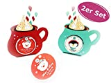 Lip Balm Santa und Co. 2er Set - Lipgloss, Adventskalender, Wichtelgeschenk