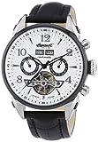 Ingersoll Herren-Armbanduhr XL Seattle Chronograph Automatik Leder IN4512WHBK