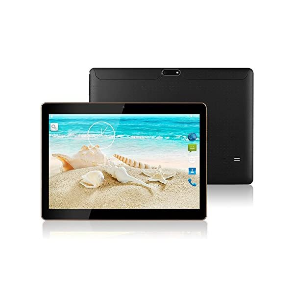 10 inch Android 7.0 Octa Core Tablet Unlocked Pad 10 inch Phablet with Dual SIM Card Slot 2GB RAM 64GB ROM Built-in WIFI Bluetooth GPS Netflix Youtube TYD-107 -Black 51lZ CsBjvL