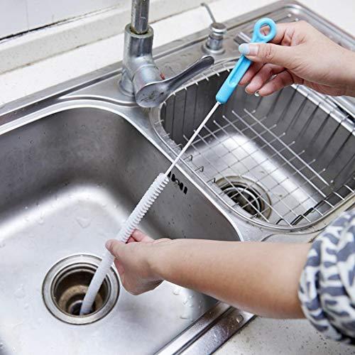 cioler Kitchen Sink Drain Filter Wasserleitung Abwasserkanal Clog Nylon Reinigungsbürste Bürsten