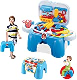 (SD-B) deAO® Medical Toy Set in a Carrycase Stool