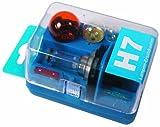 Unitec 73082 - Kit de recambio de bombillas H7, color azul