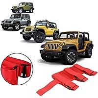 RUNGAO - Soporte fijo para extintor de incendios de coche para Jeep Wrangler