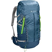 Vaude Unisex's Zerum 48 Plus W Backpack, Blue/Foggy Blue, 74 x 35 x 26 cm