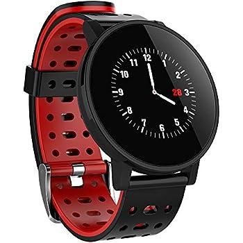 9FMZZzi81E Reloj Inteligente, Hombre Mujer T3 Pulsera Actividad ...