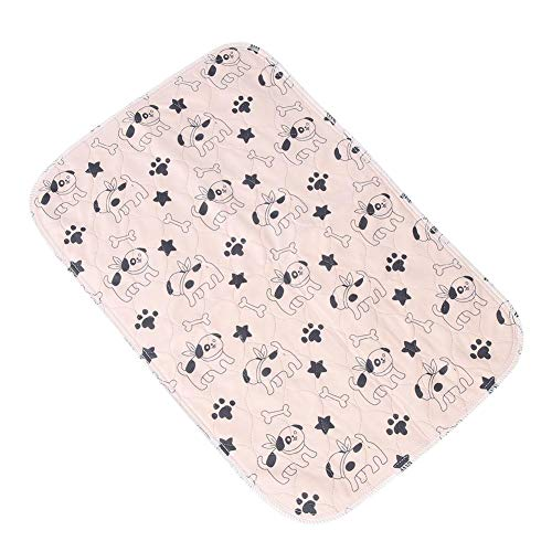 Smandy Pet pipì Pad, 3 Dimensioni Riutilizzabile Impermeabile Cucciolo di Gatto pipì Pads Letto Tappeto Lavabile Assorbente Animale Domestico traing Pads Cane urina Mat(40 * 60cm)