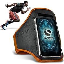XIAOMI MI-2A Armbands - ( Orange ) Universal Sports Running Action Mobile Phone Armband Holder ( XIAOMI MI-2A de brazaletes - ( naranja ) Deportes Universales Ejecutando acción Móvil Brazalete titular )
