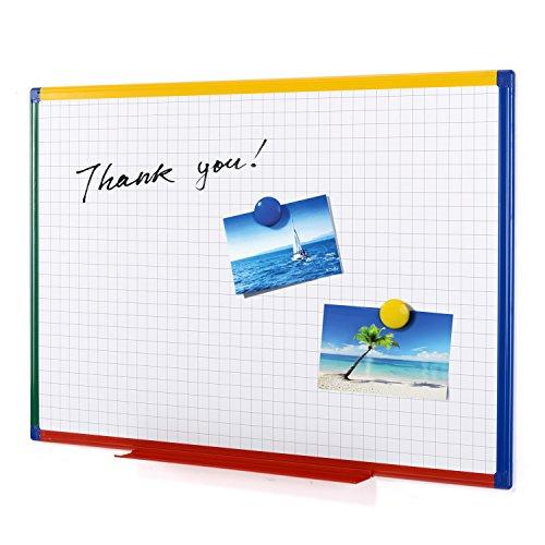 Swansea Hause Kinder Kindertafel Magnettafel Whiteboard Kunststoffrahmen magnetisch 90*60 cm
